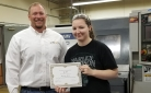 Cline Tool Advanced Manufacturing Scholarship Winner